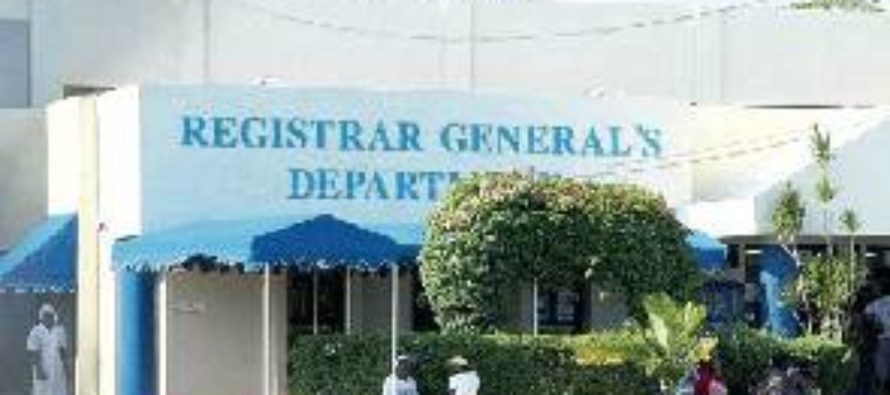 Registrar-General rolls out one-stop shop system