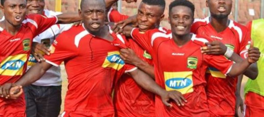 Confed Cup: 4 missed penalties as Kotoko edge CARA in first leg