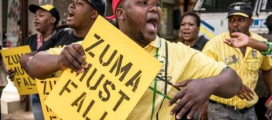 South Africa: ANC leaders to ask President Zuma to resign