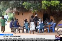 V/R: No cooking in Volta village where 'contaminated Akple' wipes out six