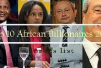 No Ghanaian on Forbes billionaire list