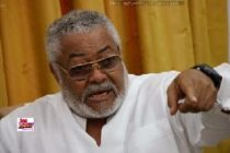 You owe us a duty to keep Ghana safe – Rawlings urges tight security