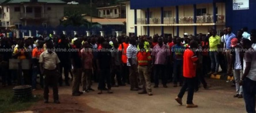 Gold Fields workers' protest was illegal – Police