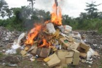 FDA destroys unwholesome products in Cape Coast