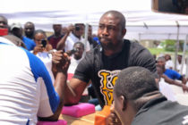 MP beats police officer in armwrestling challenge