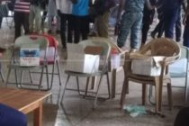 B/A NPP polls proceed without EC; cardboard boxes used for ballots
