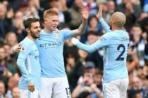 Man City 5-0 Swansea City: Champions claim rampant win over hapless Swans