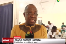 [Photos + Video] Bongo District Hospital: Patients share beds, 'container' used as morgue