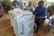 COHBS donates Office Equipment to Akatsi South District Education Directorate