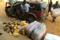 V/R: Police intercept 105 parcels of suspected cannabis