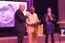 Photos: Mahama recognised for his 'Outstanding Christian Leadership'