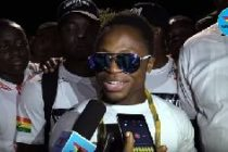 Heroic welcome for champion Dogboe
