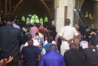 Nigerian Christians march for peace in cattle wars