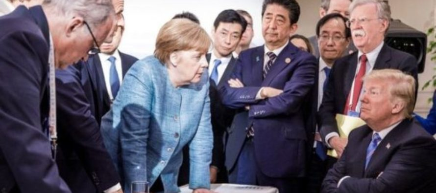 G7 summit: War of words erupts between US and key allies