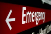 A dying woman calls emergency services. She is told 'everyone' dies