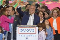 Conservative newcomer Iván Duque wins Colombia's presidential election