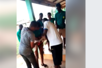 Teachers strip male student half naked at Mankessim Sec Tech (VIDEO)