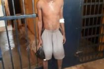 Suspected thief trapped in a well at Anaji