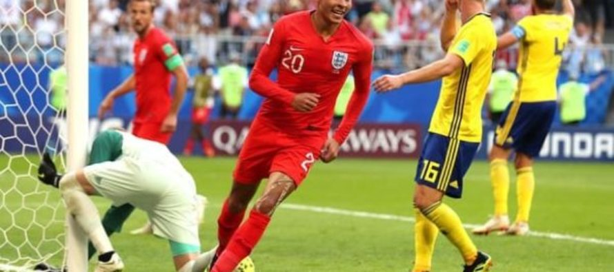 England beat Sweden to reach first World Cup semi-final in 28 years