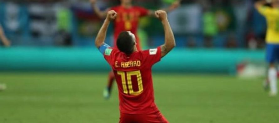 Belgium burst Brazil bubbles into World Cup semis