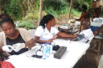 Afadzato South organizes free health screening for aged