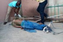 PHOTOS: Security man killed by robbers