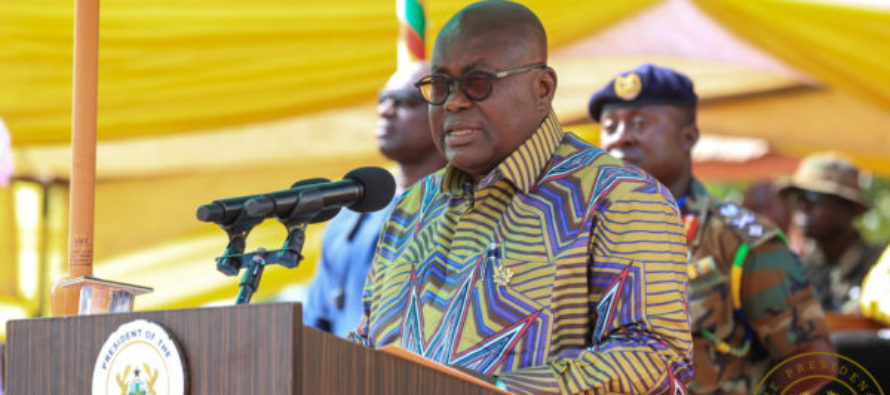 E/R: Nana Addo launches rural telephony project
