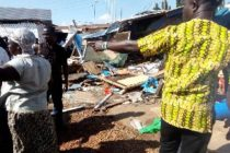 Out of control Ford car kills mother of three, maims 8 others in Accra