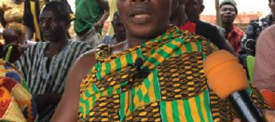 Don't add our land to proposed Oti region – Chief leads demo