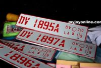 2 nabbed in Kumasi for dealing in fake vehicle number plates