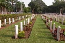 Burma Camp Military Cemetery has 16,000 graves
