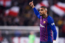 Kevin-Prince Boateng makes losing debut for Barcelona