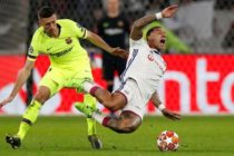 Barcelona fail to take chances against battling Lyon