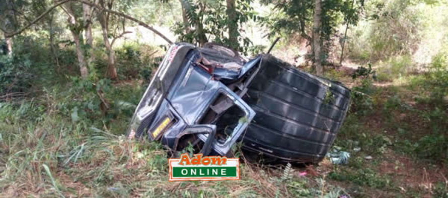 Two mourners crashed to death on way to cemetary