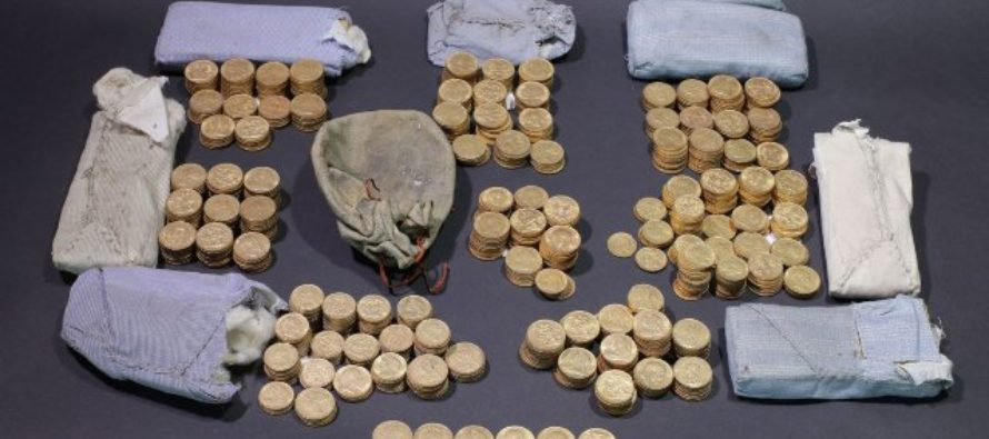 Mystery surrounds treasure trove of gold coins hidden in piano