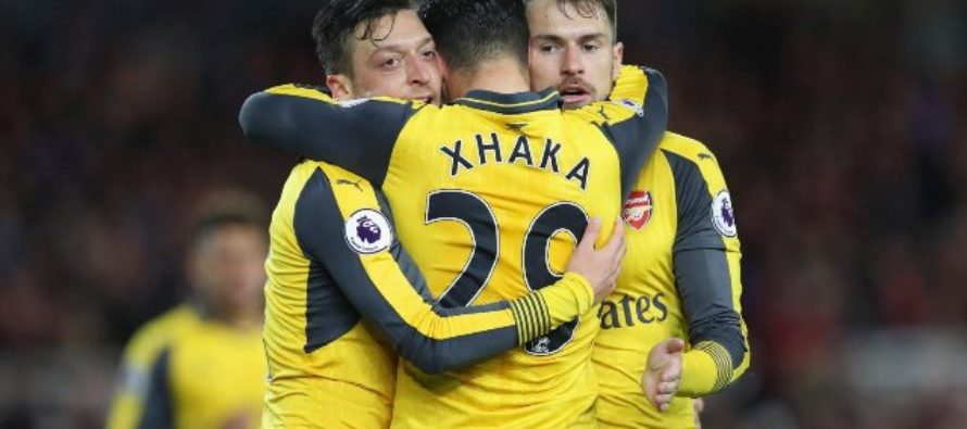 Sanchez and Ozil rescue lacklustre Arsenal at Middlesbrough