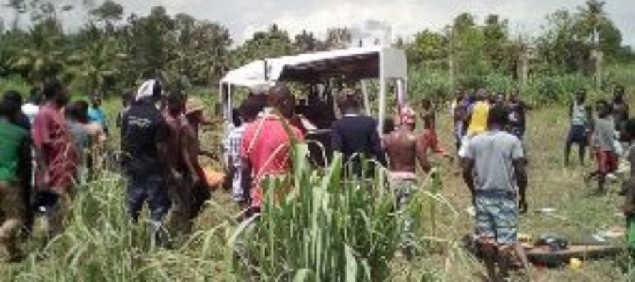 15 feared dead in accident