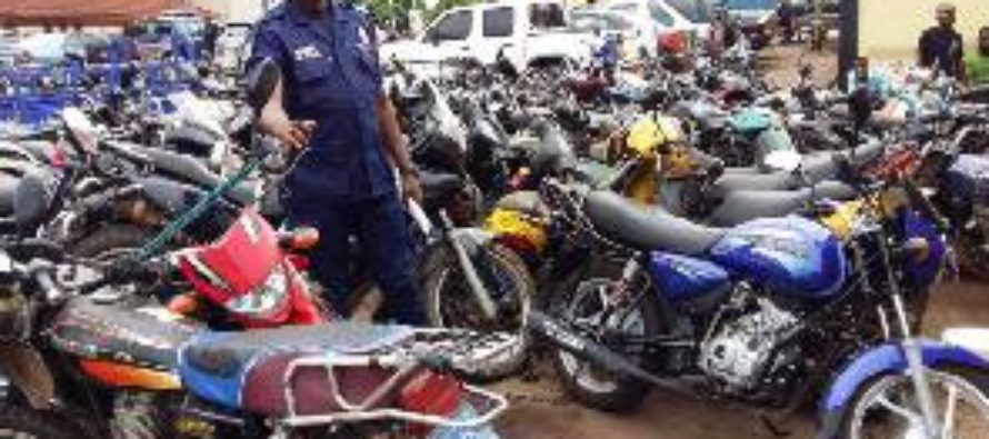 Rot at Techiman Police Command, 144 exhibit motorbikes missing