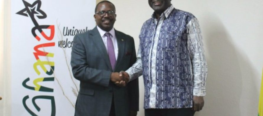 Invest in Africa pays courtesy call on Trade Ministry