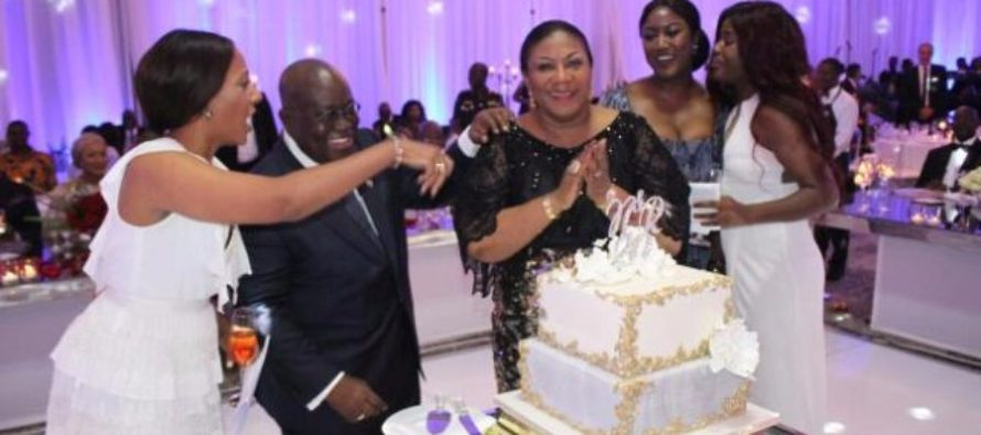 Photos: Akufo-Addo and wife celebrate 20yrs of marriage