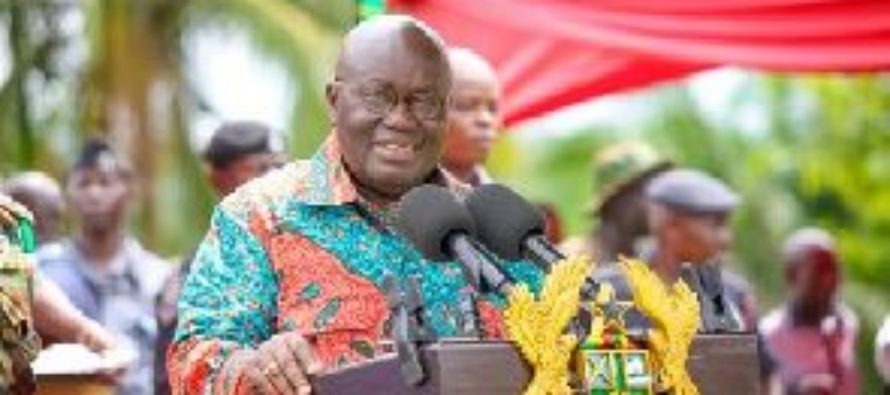 The church must play an active role in nation building – Nana Addo