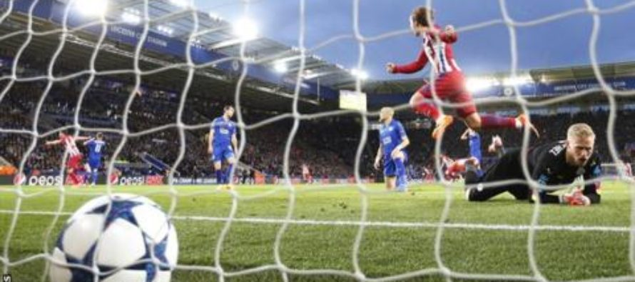 Leicester's Champions League campaign ended by Atletico