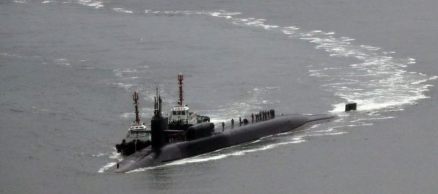 North Korea tensions: US submarine arrives in South Korea