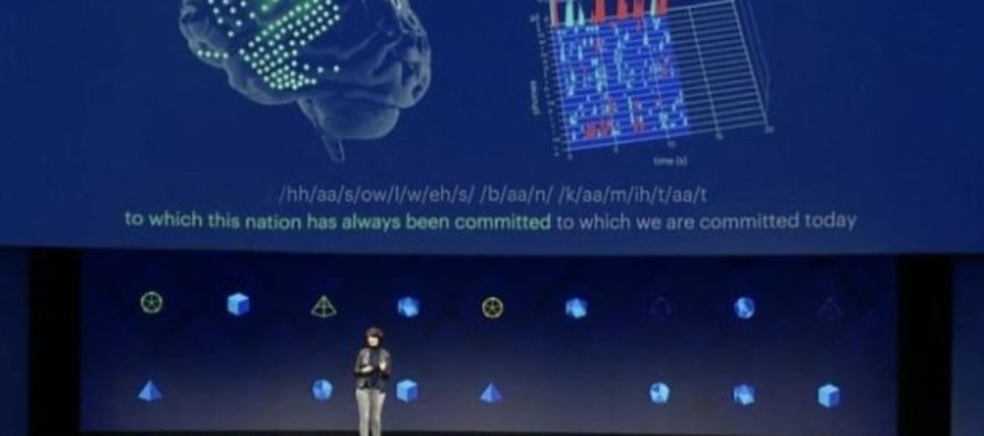 Facebook shares brain-control ambitions