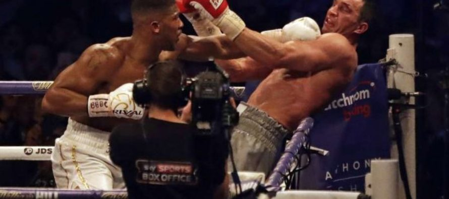 Anthony Joshua knocks out Klitschko to win heavyweight title