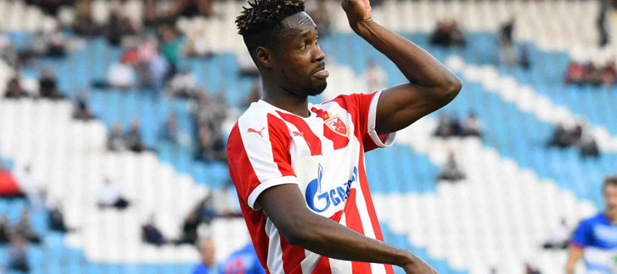 Richmond Boakye delivers on his boast by scoring in Serbian derby but Red Star Belgrade lose