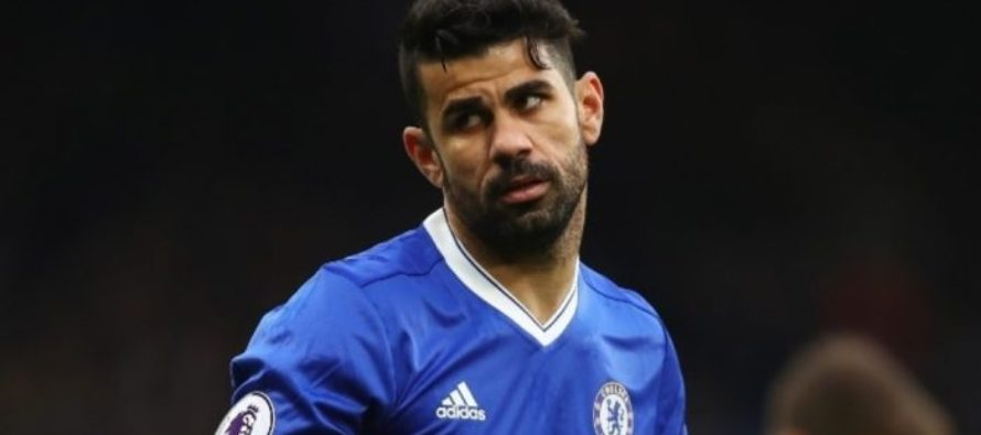 Fresh China approach for Chelsea's Costa