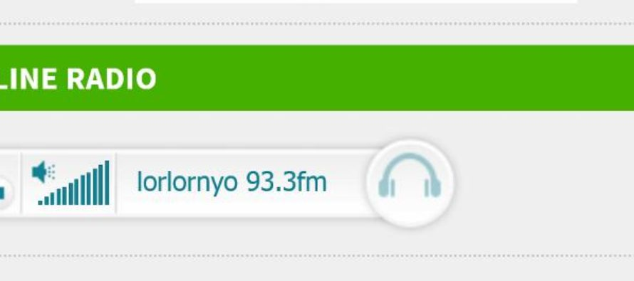 Lorlornyo fm 93.3 starts streaming its programmes on the internet today