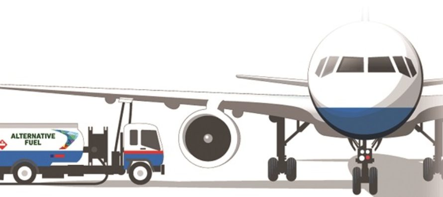 Consumption of aviation fuel up by 18%