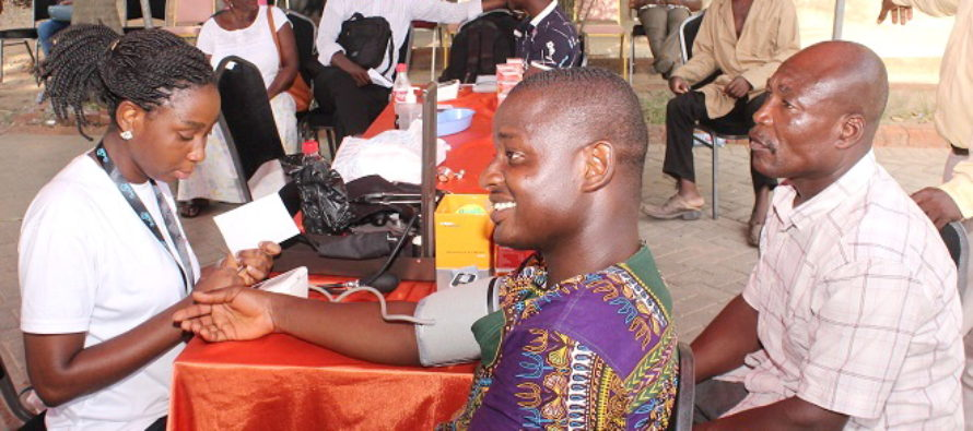 AUCC organises health screening for students, residents
